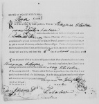 Marriage Bond of Strangeman JOHNSON and Mary WHITAKER, 1798, Rowan County, North Carolina