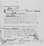 Marriage Bond of Strangeman JOHNSON and Mary WHITAKER, 1798, Rowan County, North Carolina