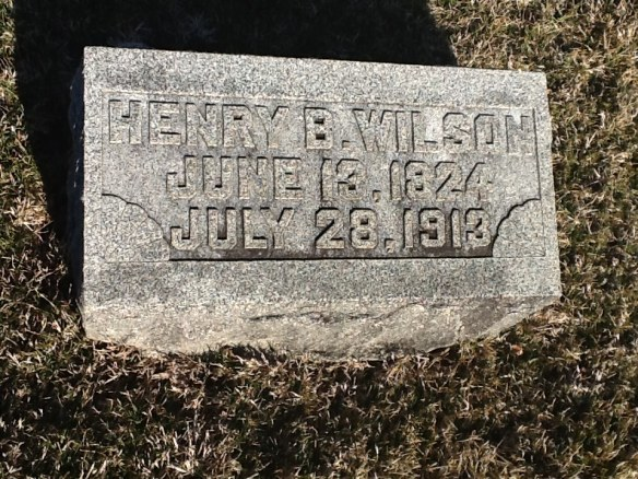 Henry B. Wilson Grave Stone, Park Cemetery, Greenfield, Indiana