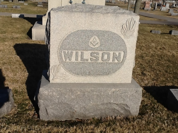 Wilson Family Marker, Park Cemetery, Greenfield, Indiana