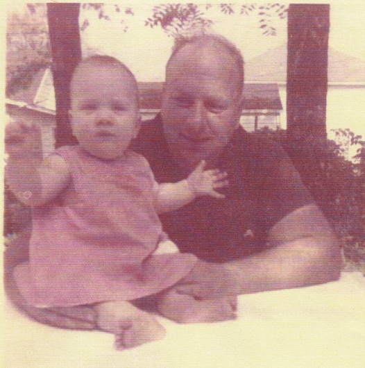 Elizabeth Ellen WILSON and James Joseph WILSON, Summer 1966, Muncie, Indiana.