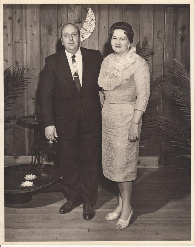 My dad and mom, circa 1960-1962.