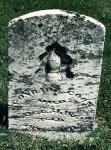 Conrad S. Coon Grave Stone, Harlan Cemetery, Brown Township, Hancock County, Indiana, USA.