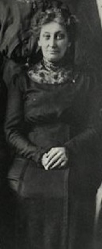 Barbara Ellen (HAAS) WILSON, circa 1910-1914.