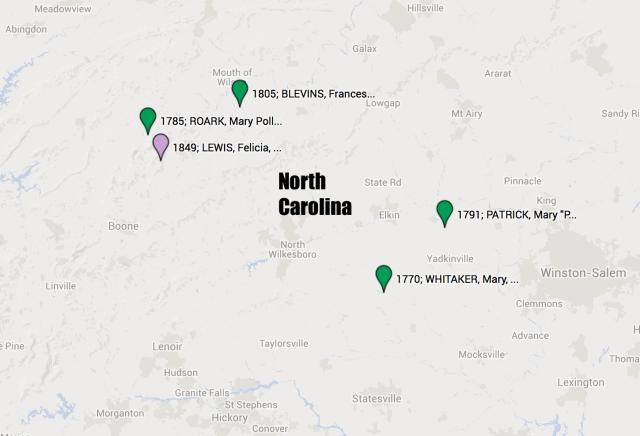 U5a1i1a1 North Carolina