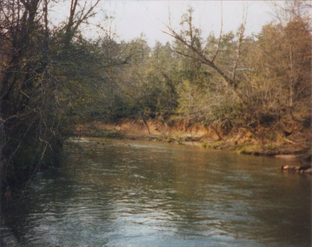 Hunting Creek, Iredell County, North Carolina, which was just south of Anderson Johnson's land.