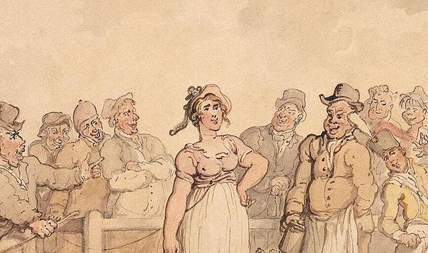 Rowlandson,_Thomas_-_Selling_a_Wife_-_1812-14