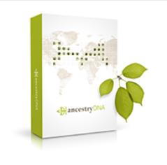 AncestryDNA Kit Logo, Image Copyright Ancestry.com